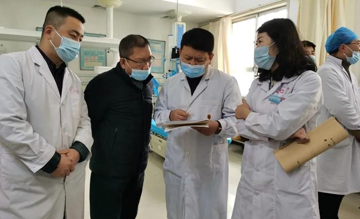 我院组织人员赴皋兰县人民医院进行对口帮扶调研督导工作